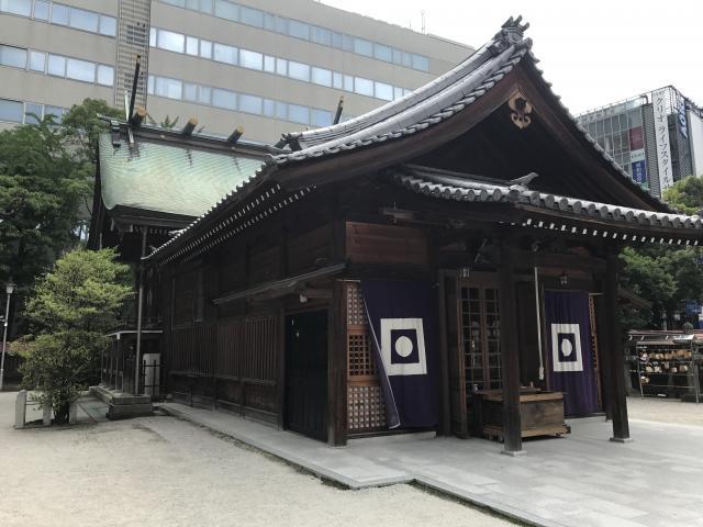 警固神社(福岡県天神駅) - 本殿・本堂の写真