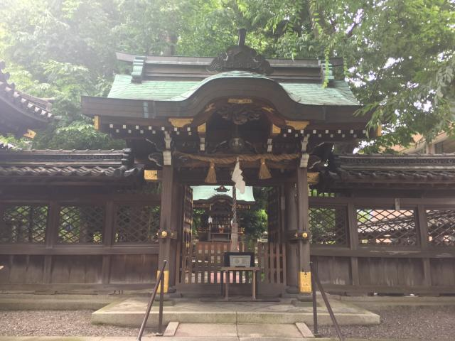 岐阜県八重垣神社の本殿