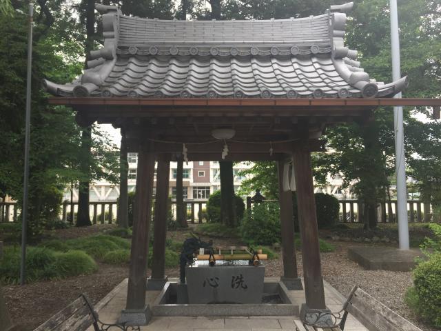 八重垣神社の手水