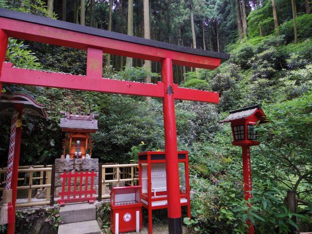 福岡県南蔵院の鳥居