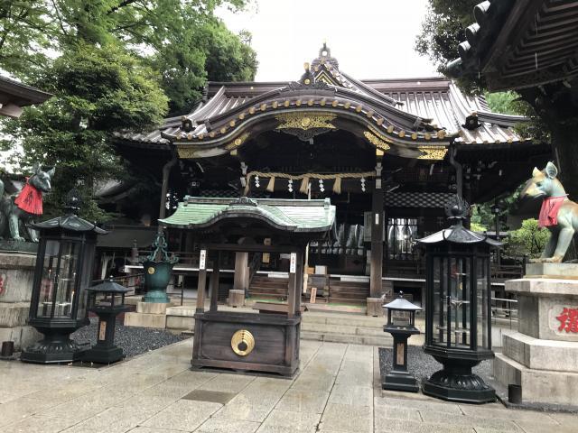 東京都豊川稲荷東京別院の本殿