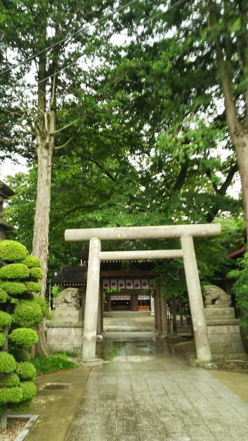栃木県黒磯神社の鳥居