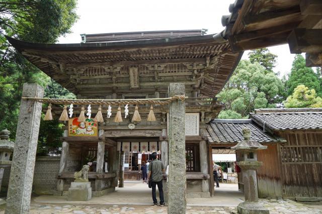 櫻井神社(福岡県波多江駅) - 山門・神門の写真