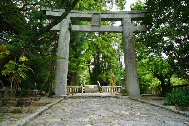 櫻井神社(福岡県波多江駅) - 鳥居の写真