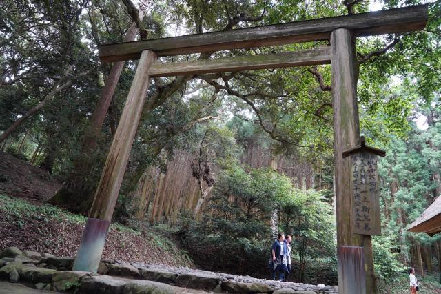 福岡県桜井大神宮の鳥居