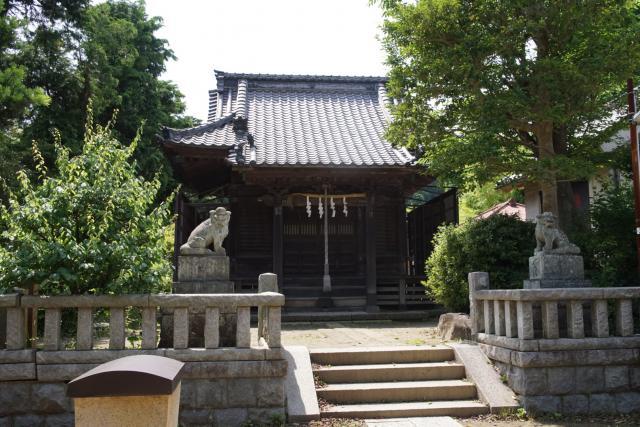 八坂大神の本殿