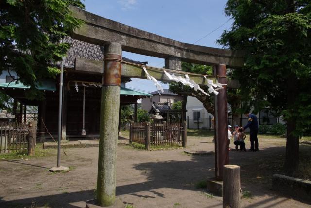 巽神社(神奈川県鎌倉駅) - 鳥居の写真