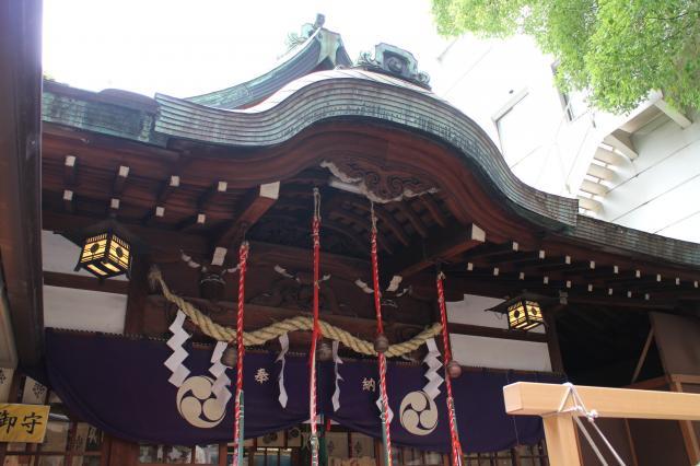 大阪府少彦名神社の本殿
