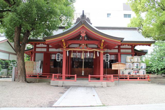 大阪府御霊神社の本殿