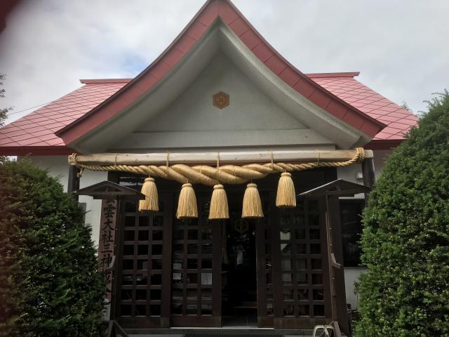 出雲大社三神教会の本殿