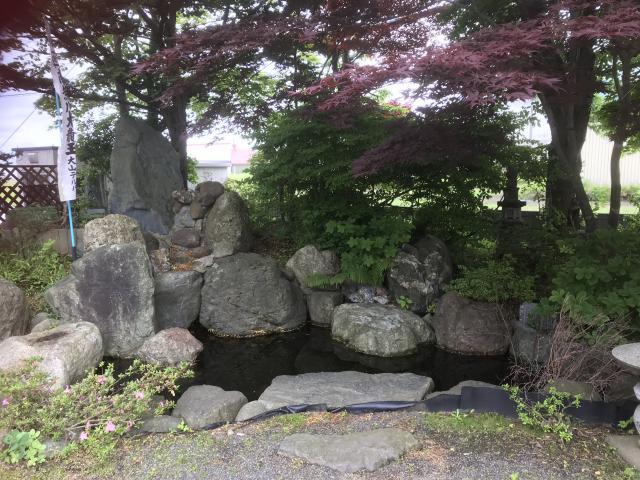 出雲大社三神教会の庭園