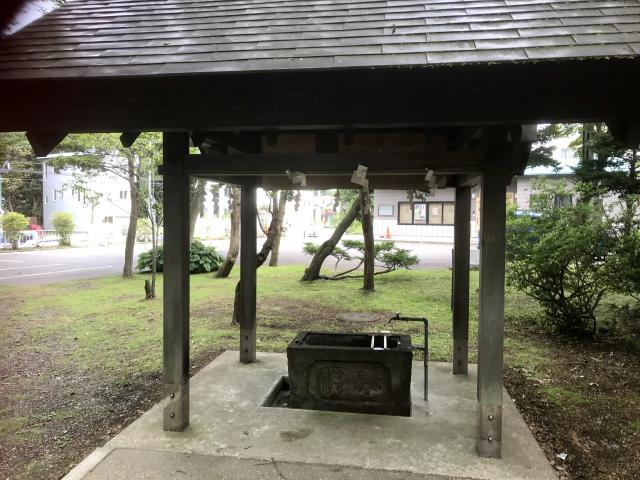 廣島神社の手水