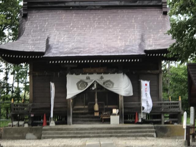 愛国神社の本殿