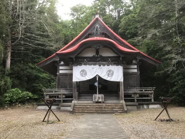 十勝神社の本殿