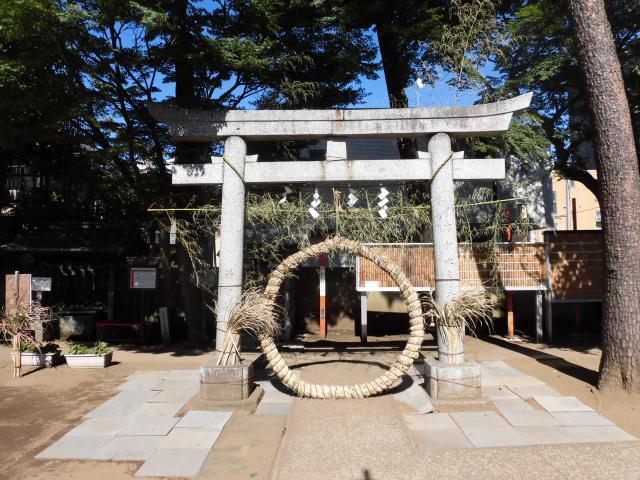 久富稲荷神社の鳥居