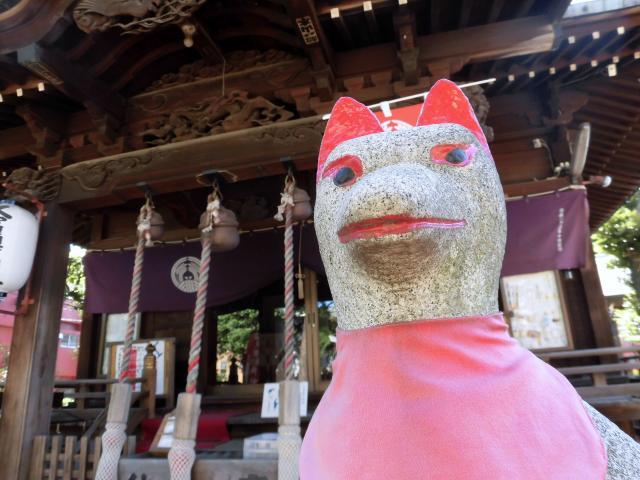 久富稲荷神社の狛犬