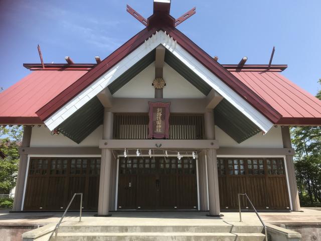 北海道厳島神社の本殿