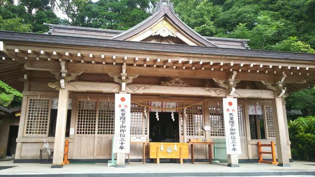 鹿児島県高千穂神社の本殿