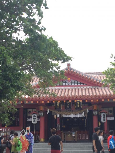 沖縄県波上宮の本殿
