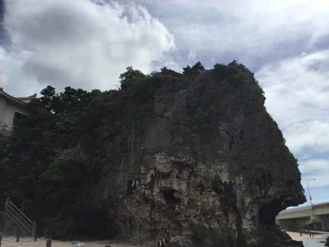 波上宮の景色