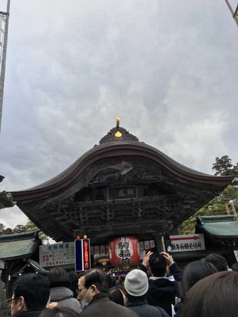 竹駒神社の初詣