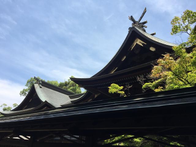 広島県備後護国神社の本殿