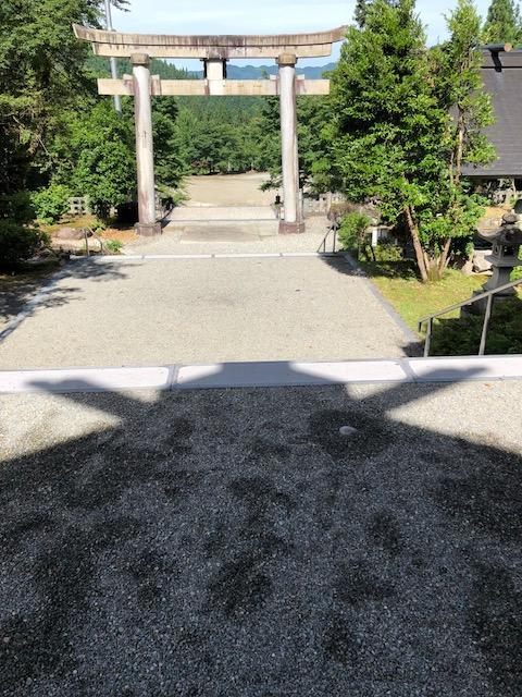 新潟県八海山尊神社の建物その他