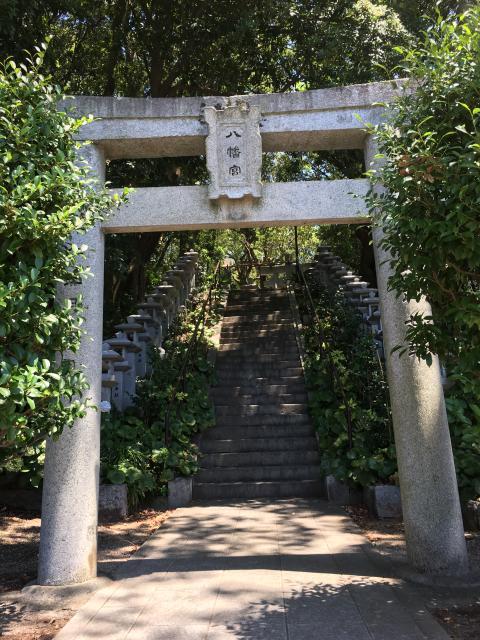 福岡県高宮八幡宮の鳥居