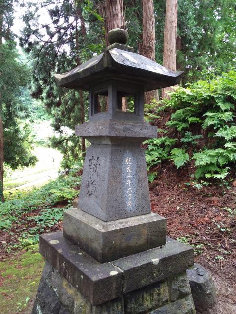月山神社の建物その他