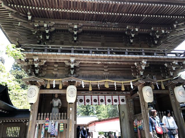 福島県伊佐須美神社の本殿