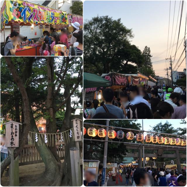 胡録神社のお祭り