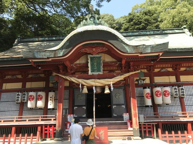 大分県八幡朝見神社の本殿