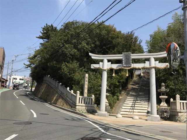 林神社(兵庫県林崎松江海岸駅) - 鳥居の写真