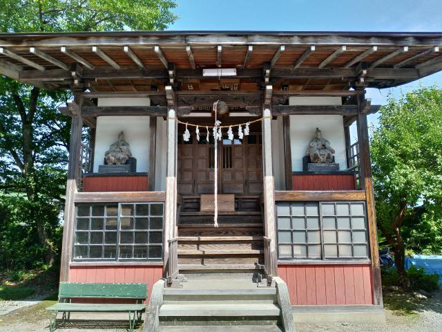 武甲山御嶽神社里宮の本殿