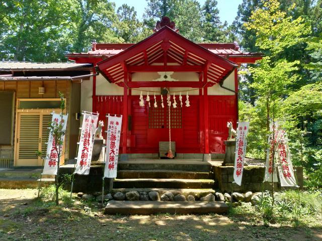 埼玉県上之臺稲荷神社の本殿