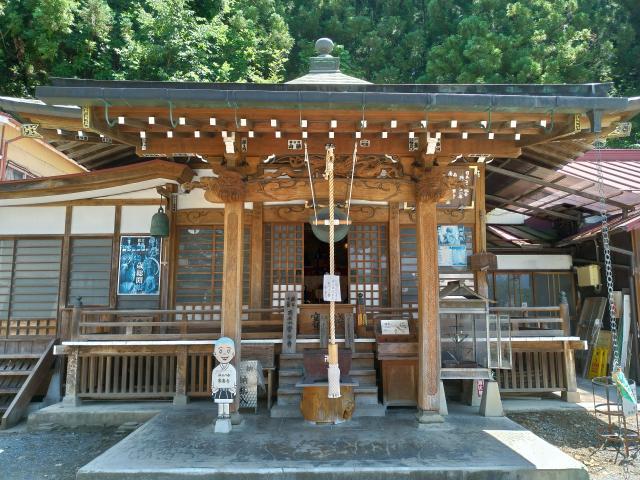 埼玉県常楽寺の本殿