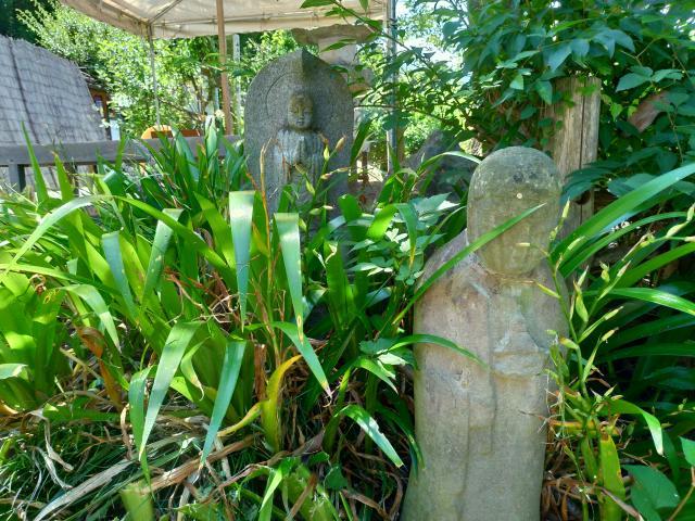 埼玉県常楽寺の地蔵