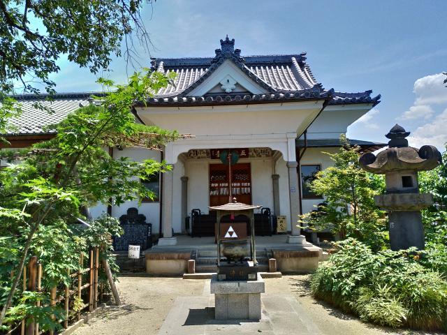 埼玉県少林寺の本殿