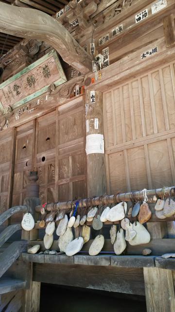 福島県瑠璃光山 医王寺の本殿