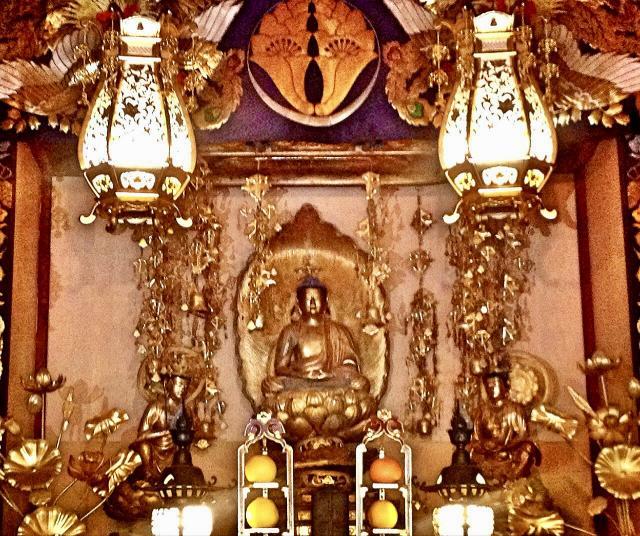 大庵寺の仏像