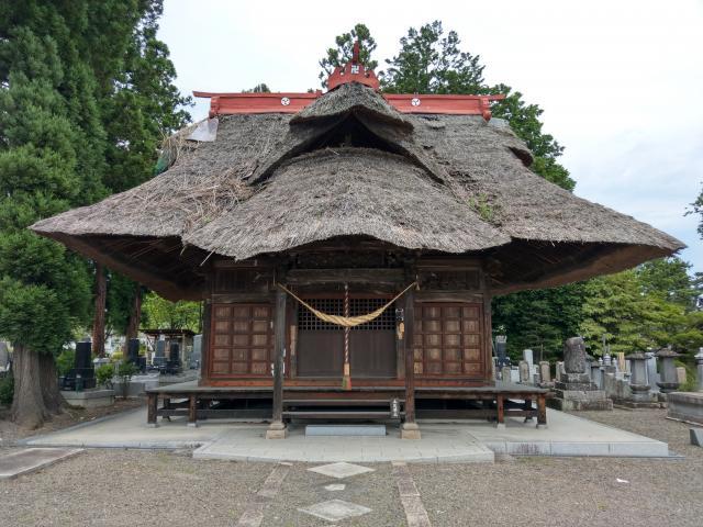 福島県大福寺の本殿