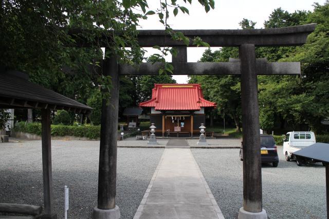 静岡県冨知神社の鳥居