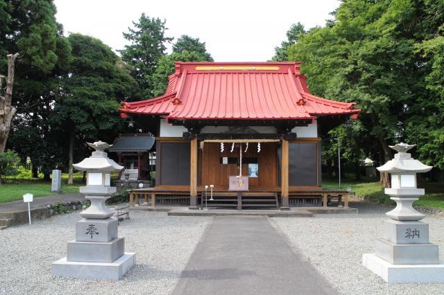静岡県冨知神社の本殿