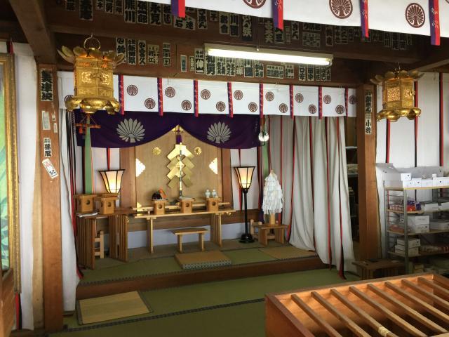 静岡県富士山頂上久須志神社の本殿
