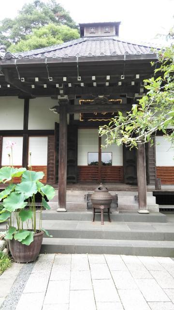 神奈川県光則寺の本殿
