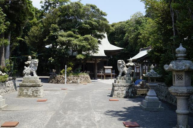 静岡県駒形神社の建物その他
