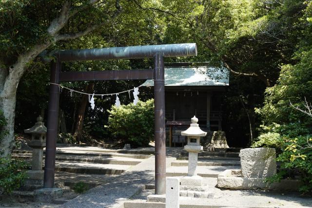 静岡県駒形神社の鳥居