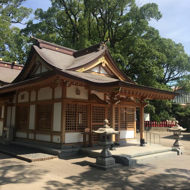 一之宮神社の本殿