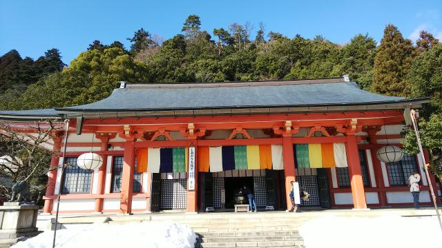 京都府鞍馬寺の本殿