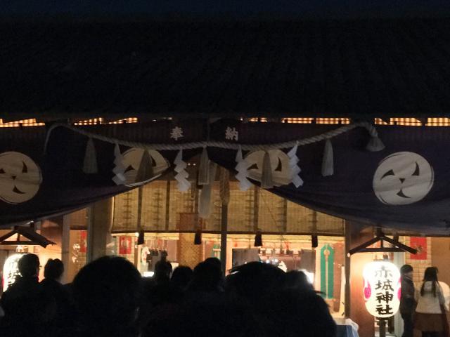 東京都赤城神社の本殿